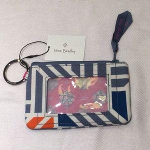 NWT Vera Bradley zip ID and coin purse